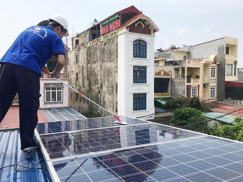 lắp đặt hệ thống điện mặt trời tại Cần Thơ